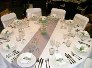 Wedding Table Settings & Weddings|Hire|Discount Marquees|Bay of Plenty|