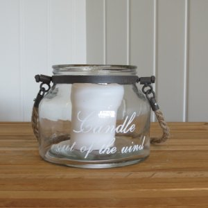 candle jar small